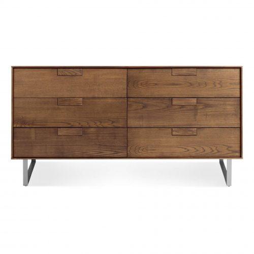 se1 6drwdr wl series 11 6 drawer dresser walnut 2