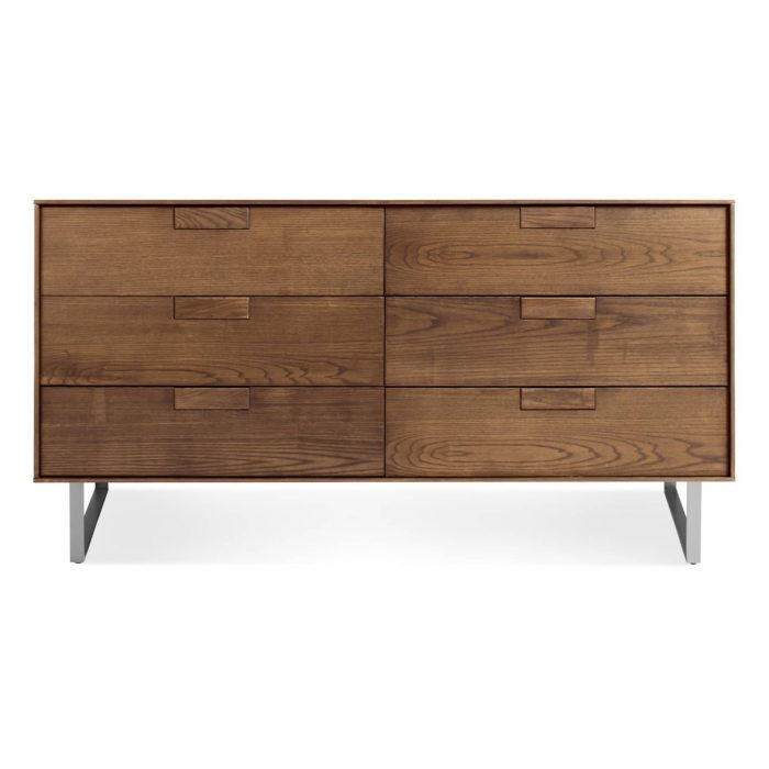 se1 6drwdr wl series 11 6 drawer dresser walnut 2