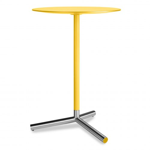 sp1 barcaf yl sprout bar height cafe table yellow 1
