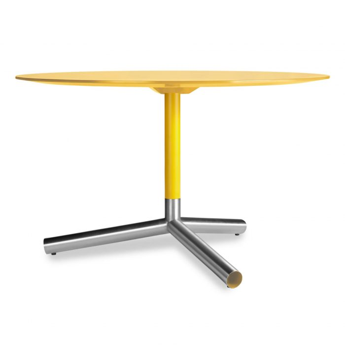 sp1 dntb48 yl sprout dining table yellow 1