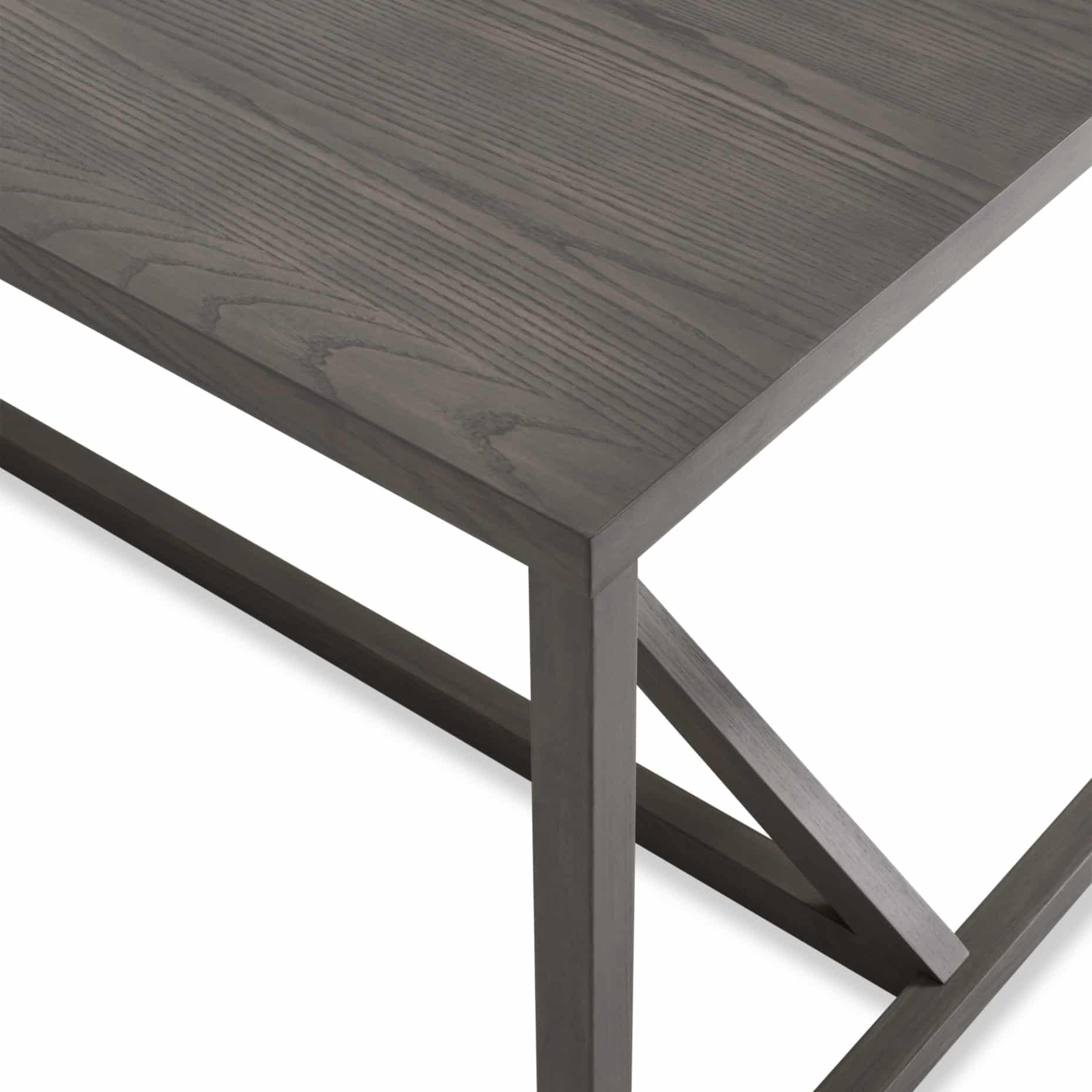 sr1 90tbpk sk detail strut x large wood table smoke