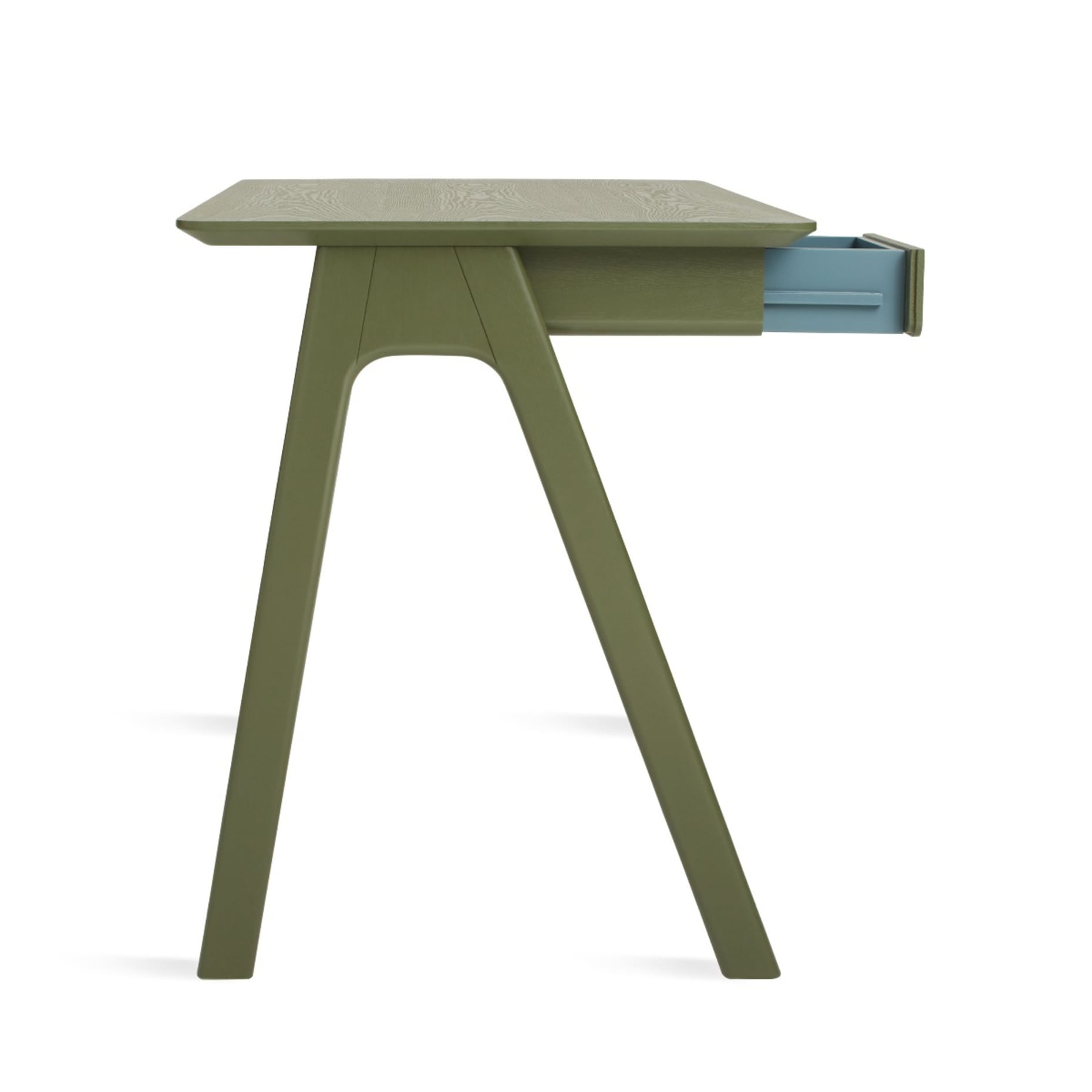 ss1 smdesk ol sidelow draweropen stash desk olive 1
