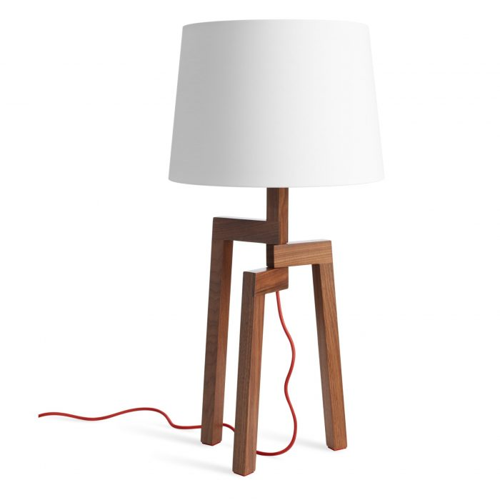 st1 smstlt wl stilt table lamp walnut