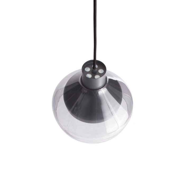 tc1 trpen4 cl top trace 4 pendant light charcoal