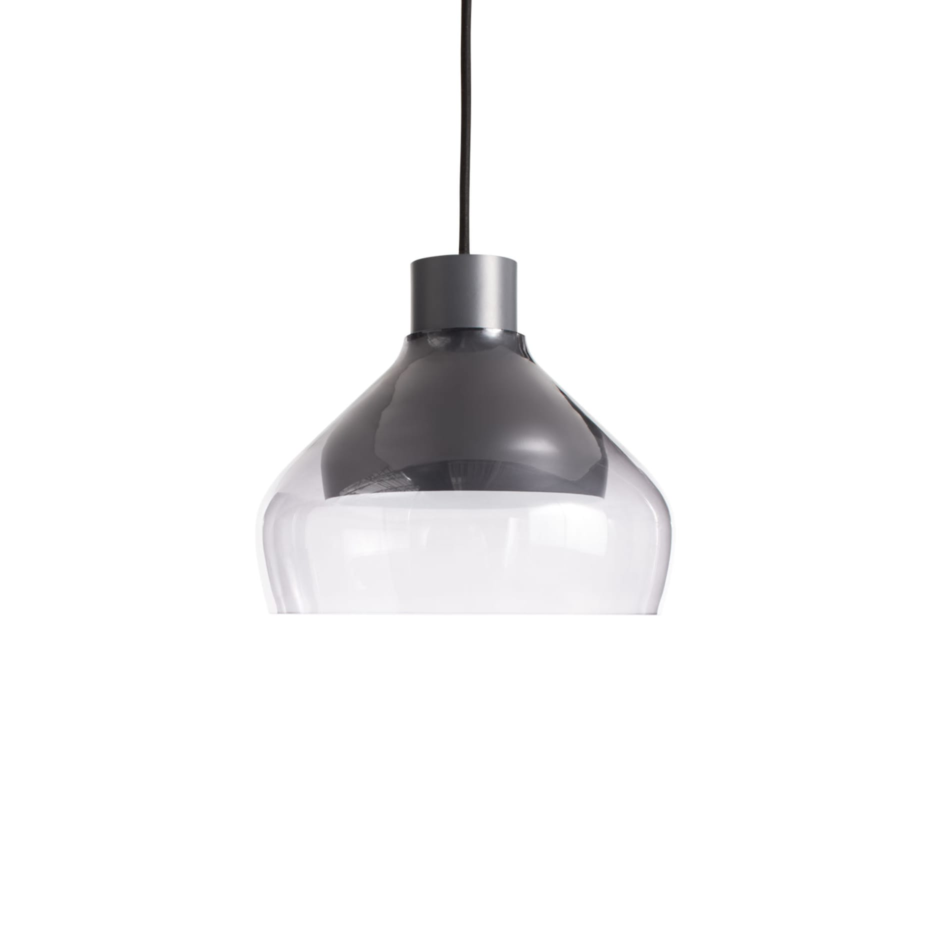 tc1 trpen4 cl trace 4 pendant light charcoal