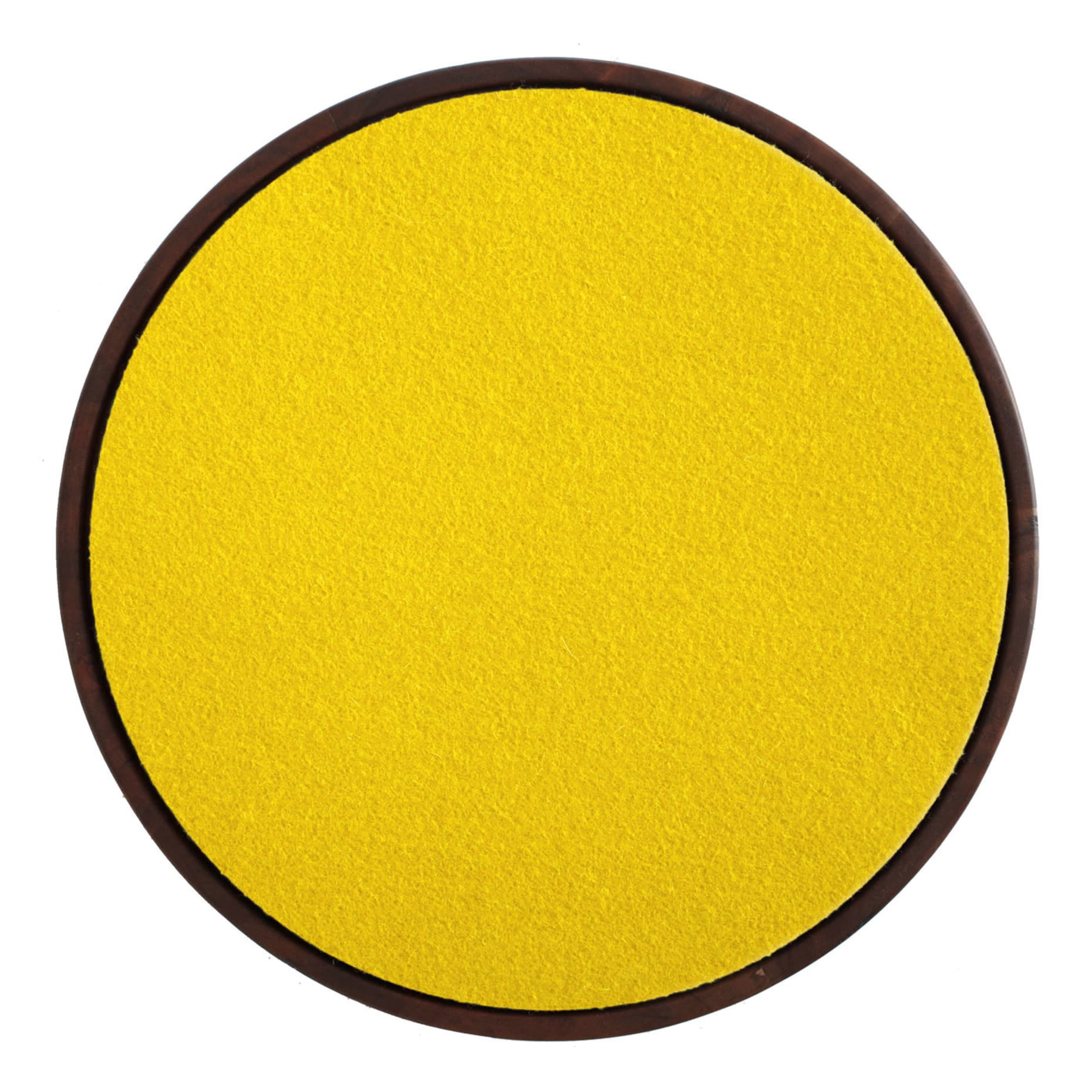 tn1 stlflt yl turn stool felt pad yellow 3