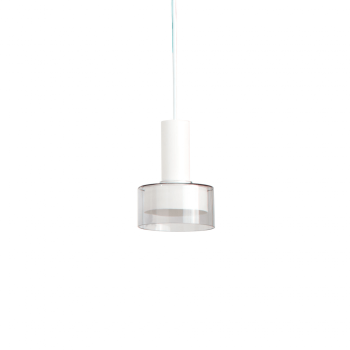 trace 2 modern pendant white
