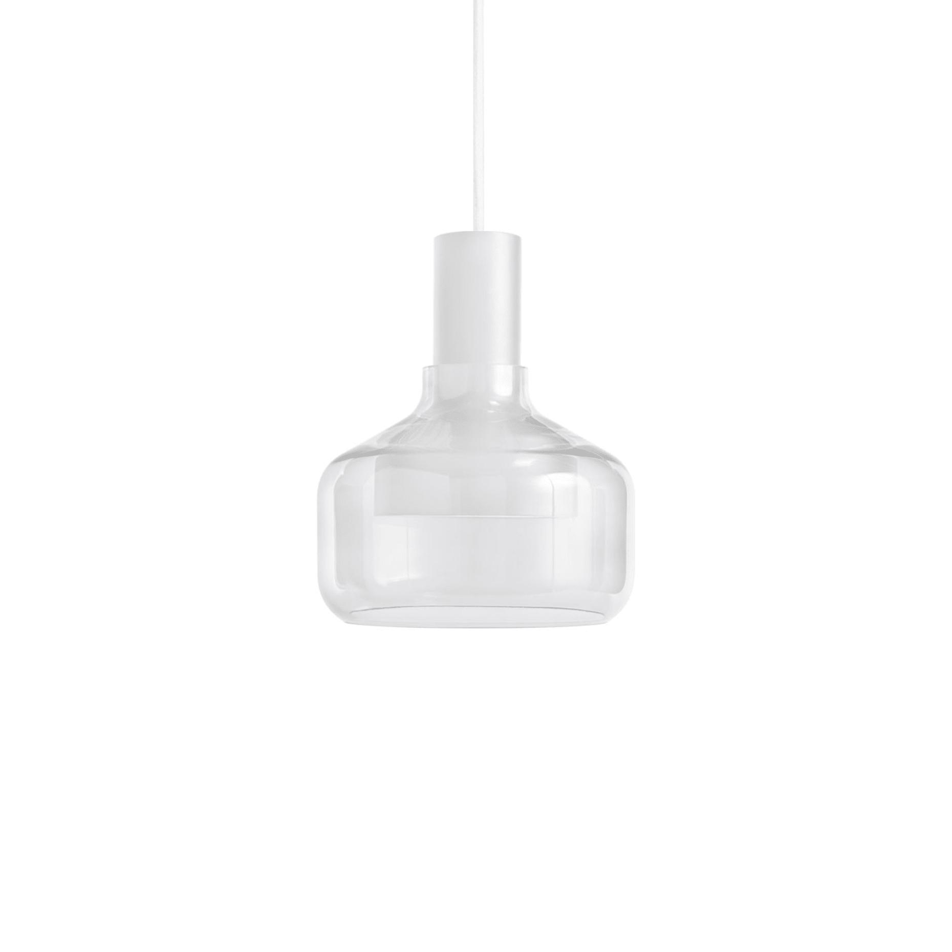 trace 3 modern pendant light white 2