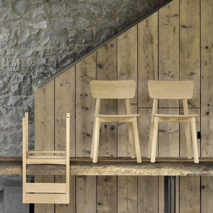 50653 Oak Casale chairs