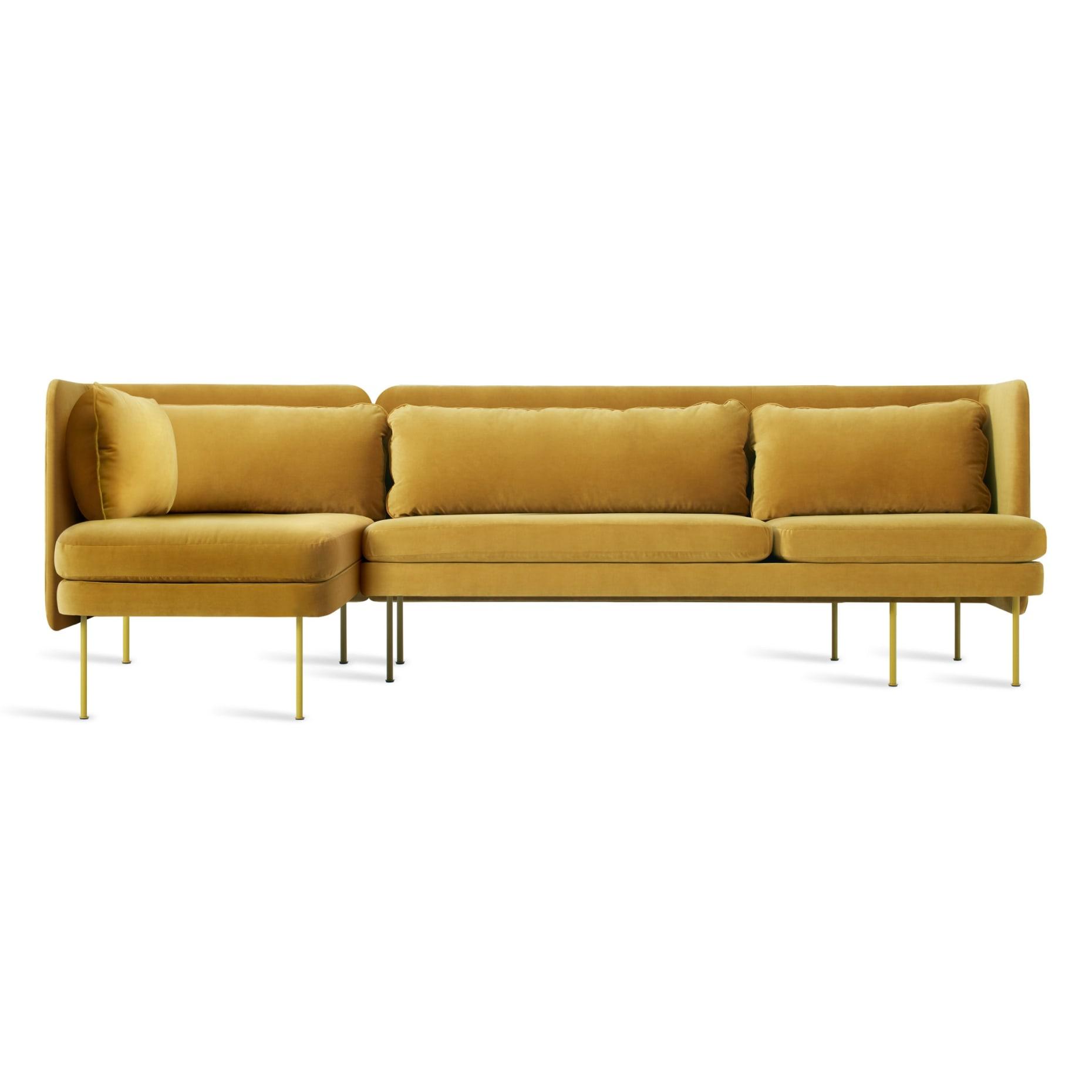 bl1 larmch oc bloke sofa left chaise ochre velvet
