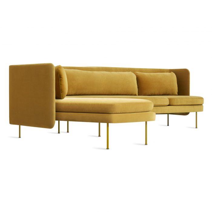 bl1 larmch oc 34 bloke sofa left chaise ochre velvet