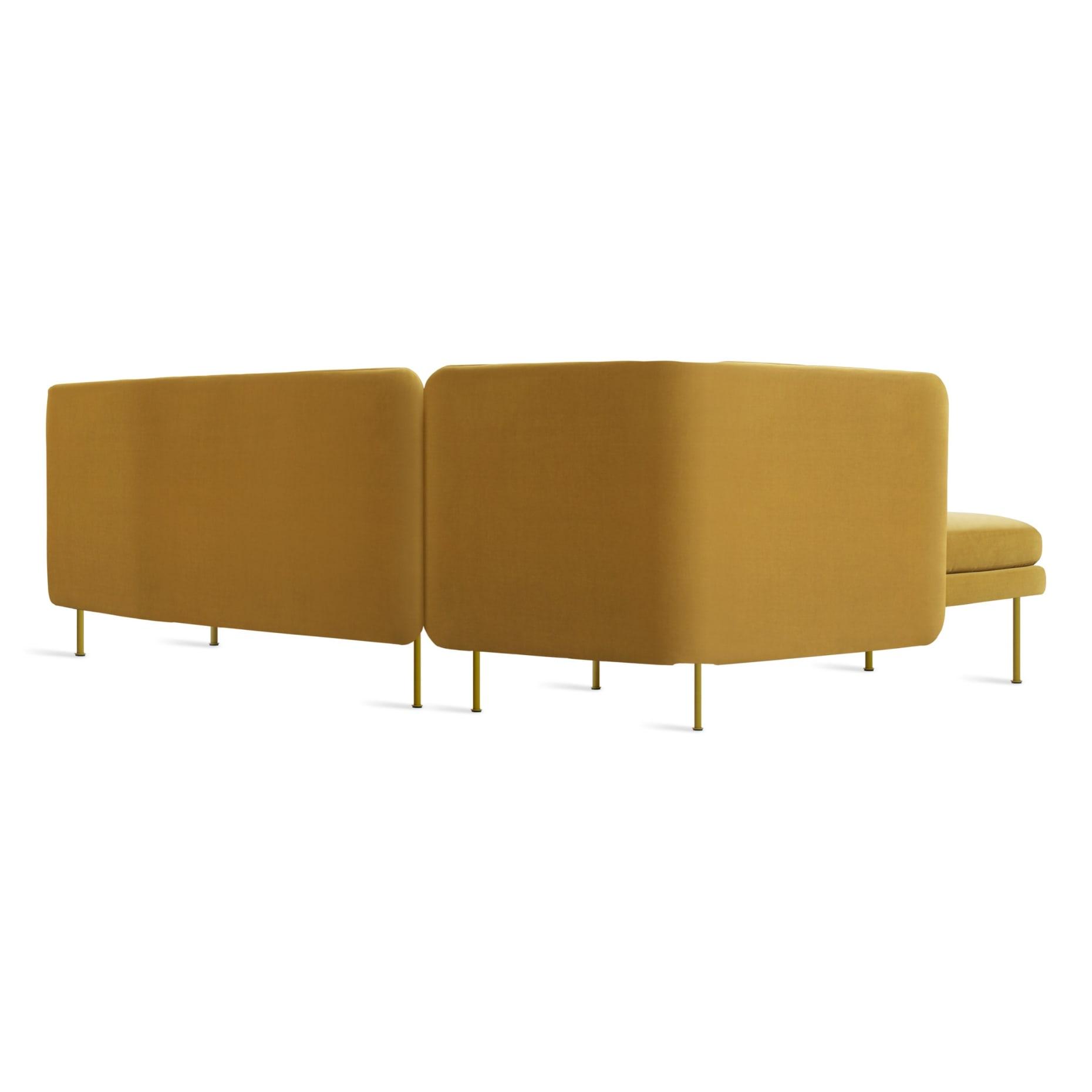 bl1 larmch oc back34 bloke sofa left chaise ochre velvet