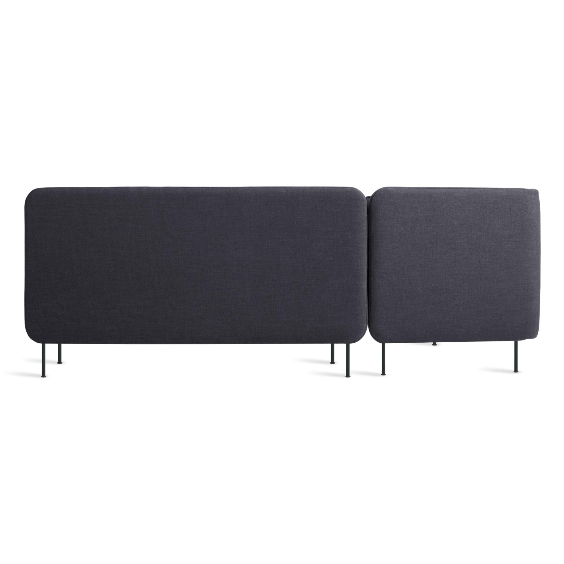 bl1 lchnam bl back bloke armless sofa w left chaise rostenkowski blue