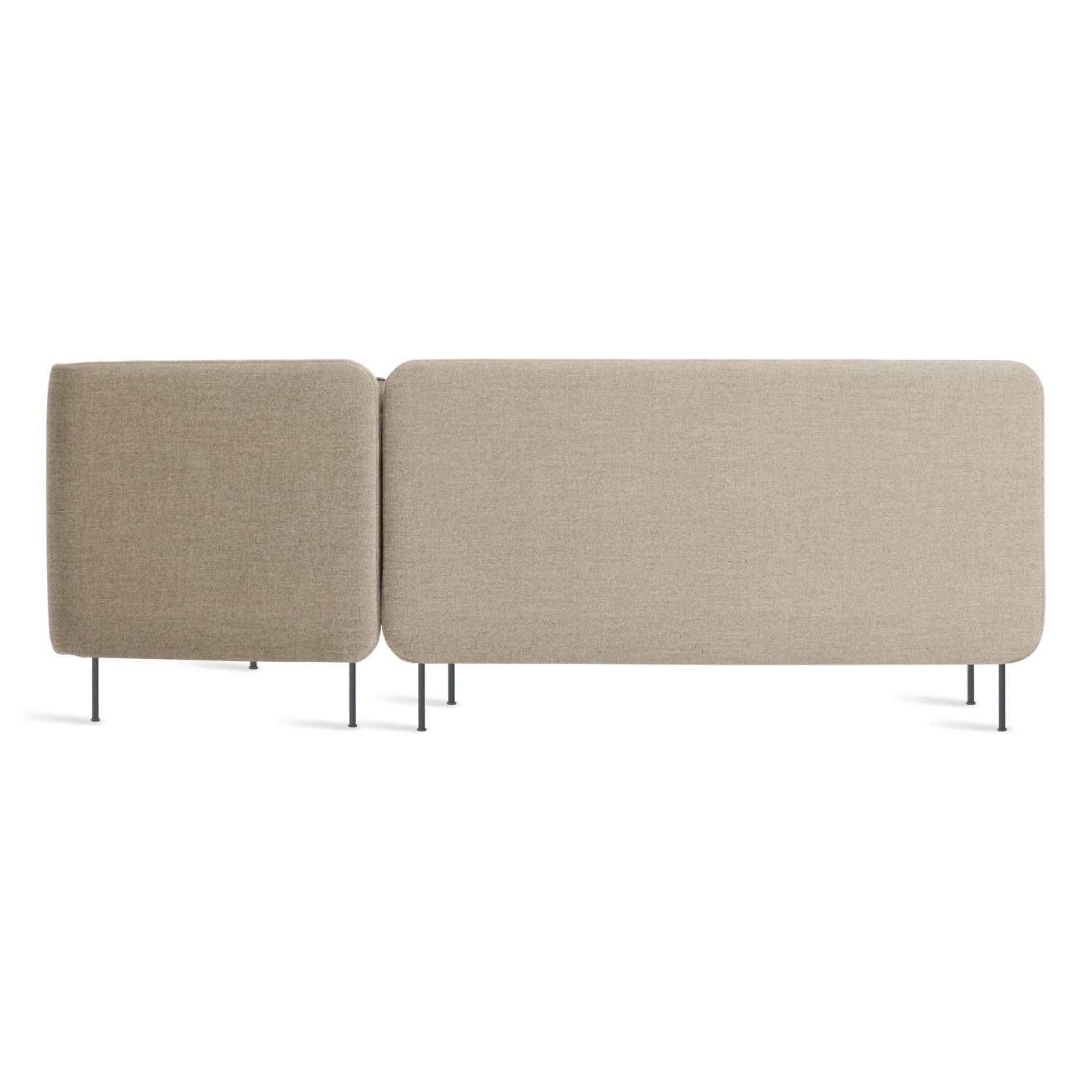 bl1 rchnam st back bloke armless sofa w right chaise tait stone