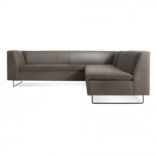 bo1 sfsect ot front bonnie clyde sectional sofa otter leather 1