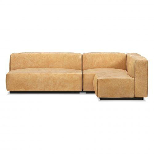 cl1 seckta ca view2 cleon medium sectional sofa camel leather