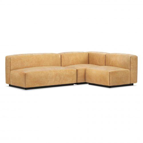 cl1 seckta ca view2 34 cleon medium sectional sofa camel leather