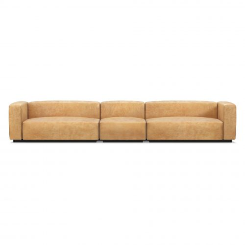 cl1 secktb ca view3 cleon medium plus sectional sofa camel leather