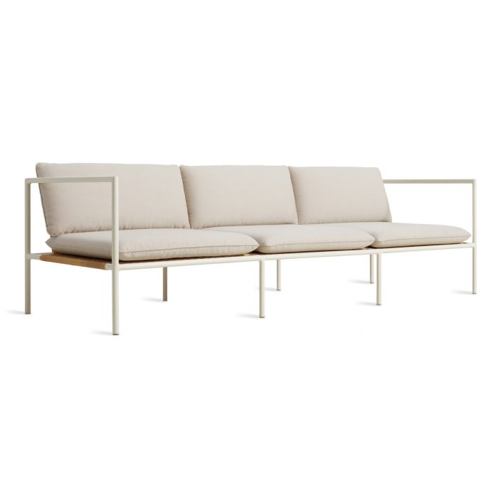 dg1 3stsfa ln 34frontlow dog days outdoor 3 seat sofa sunbrella linen white