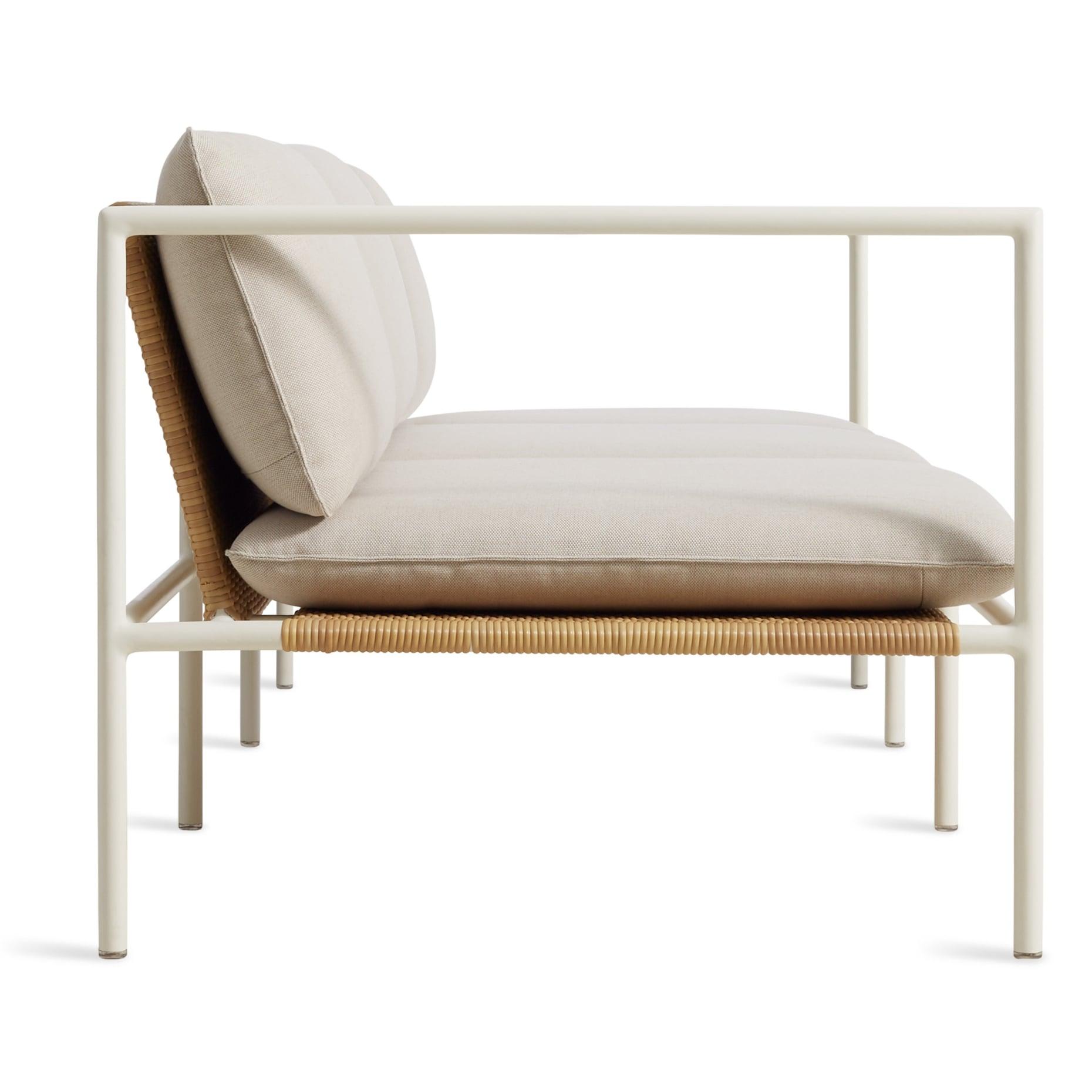 dg1 3stsfa ln sidelow dog days outdoor 3 seat sofa sunbrella linen white