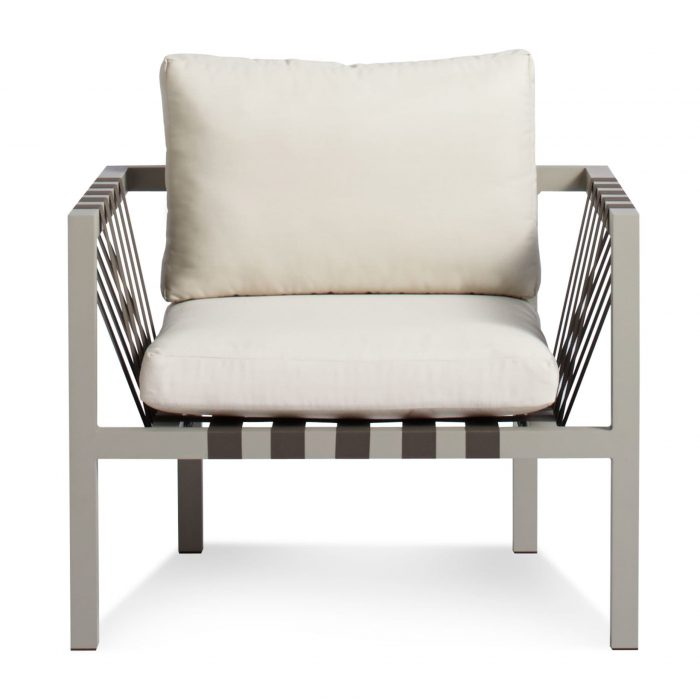 jibe modern outdoor lounge chair front