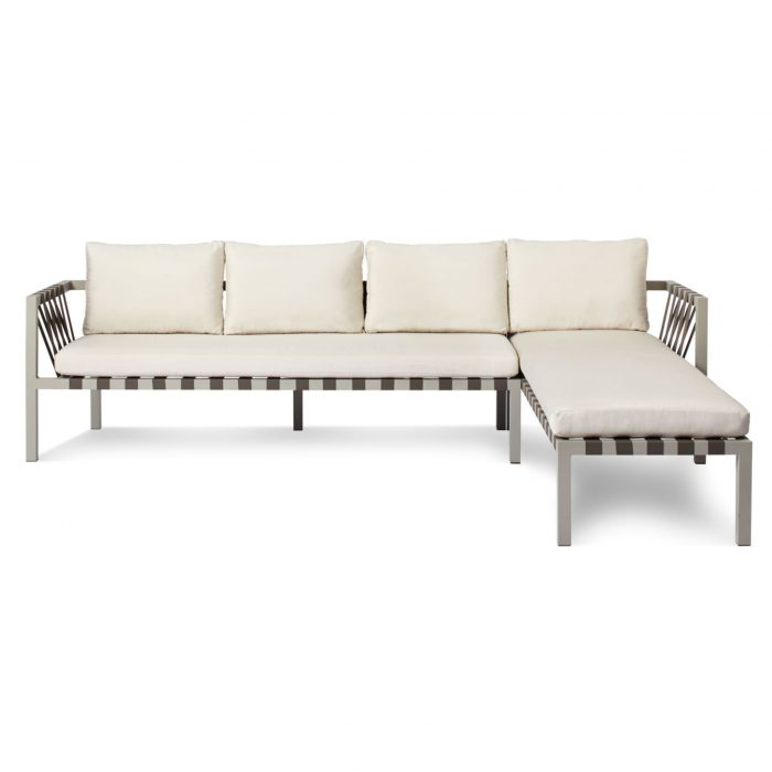 jibe modern outdoor right sectional sofa