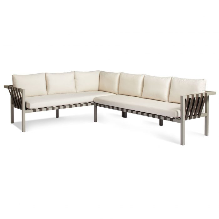 jibe modern outdoor xl left sectional sofa angle