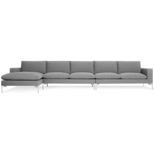 new standard l shaped sectional c spitzer grey white