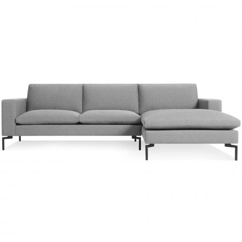 new standard left arm chaise spitzer grey black 4