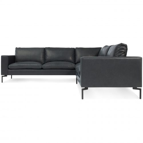 ns1 secbkc gn new standard sectional sofa small granite leather