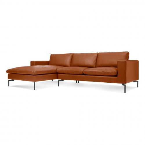 ns1 secbkb tf 34 side new standard right sofa w left chaise toffee leather 1