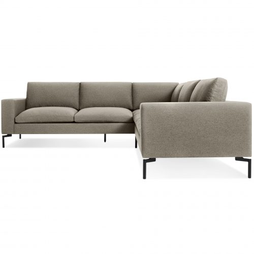 ns1 secbkc bk new standard left sectional sofa small sanford black