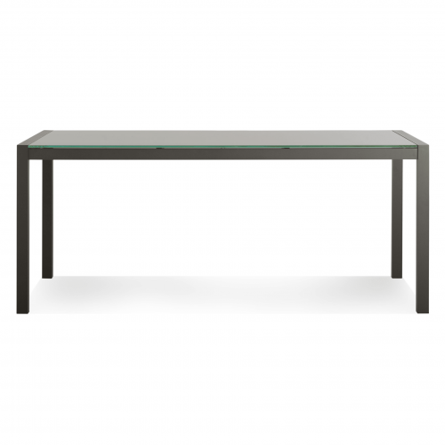 sk1 rctblec cb 9474 skiff rectangular outdoor table carbon