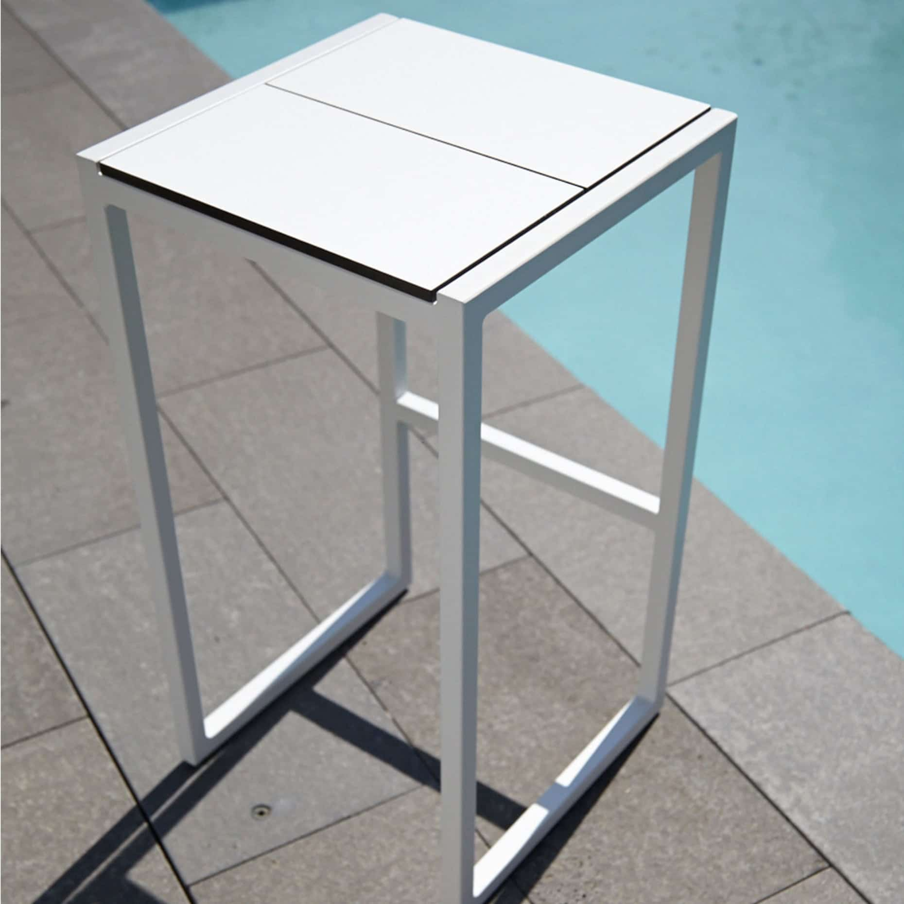 skiff modern outdoor stool