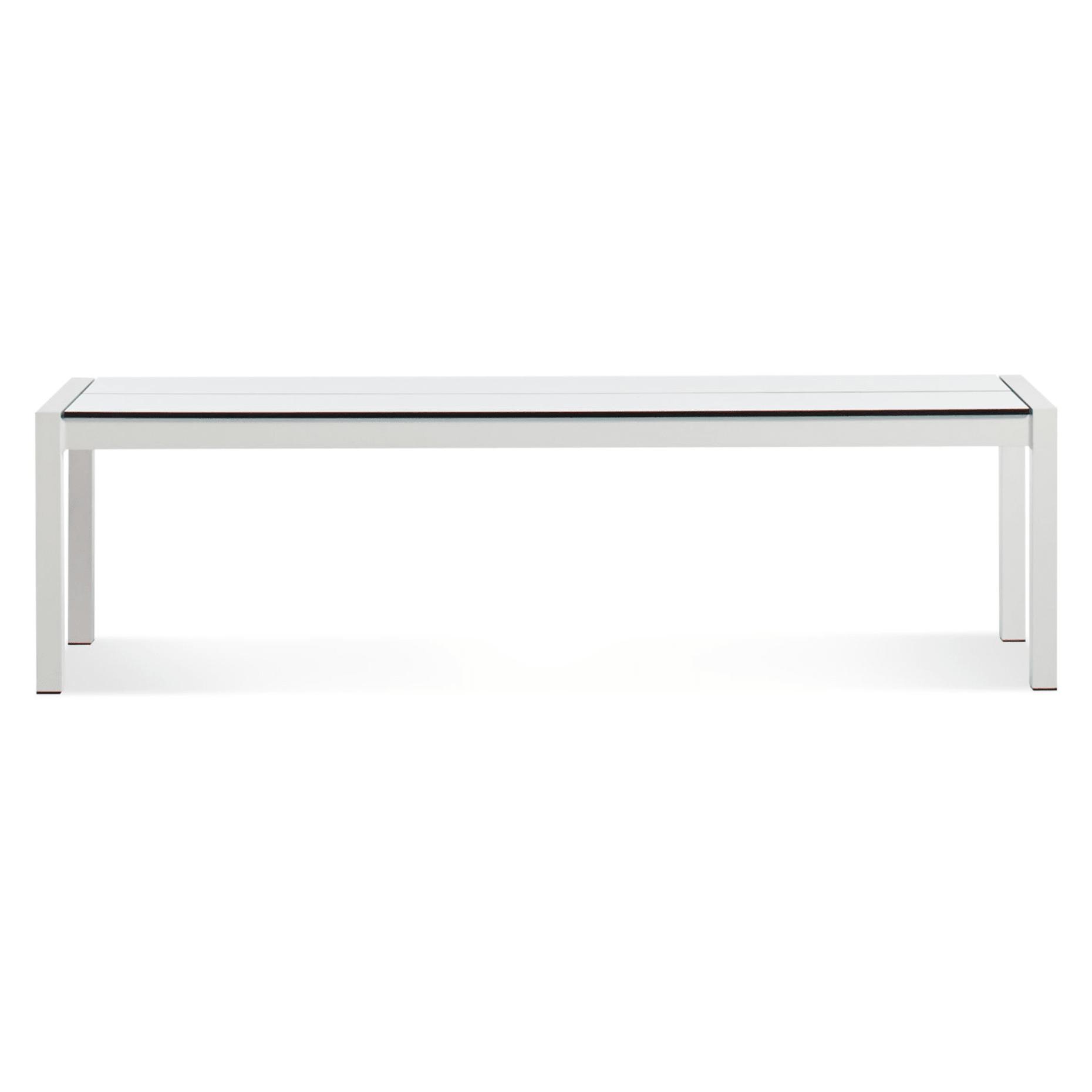 skiff outdoor modern bench