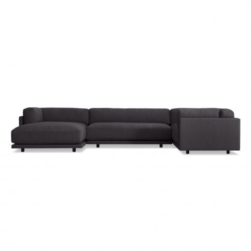 sn1 lacsec cl frontlow sunday l sectional sofa left arm chaise makada charcoal