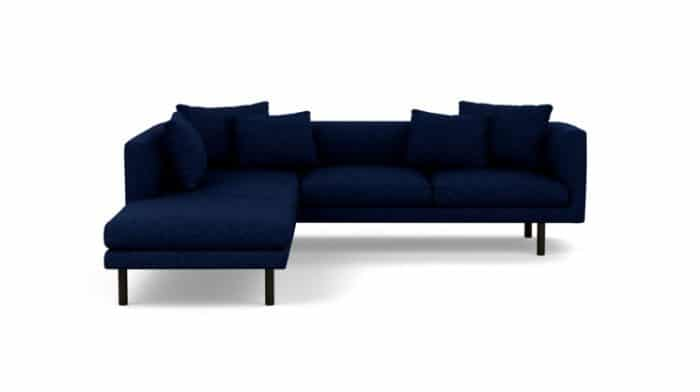 Replay Extended Sofa Backless Chaise1