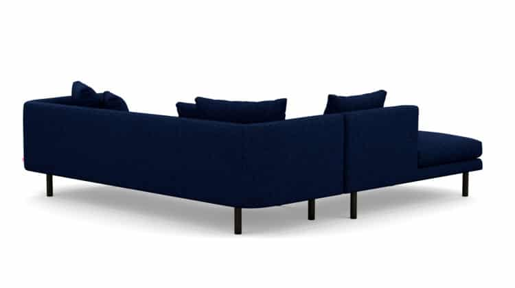 Replay Extended Sofa Backless Chaise13