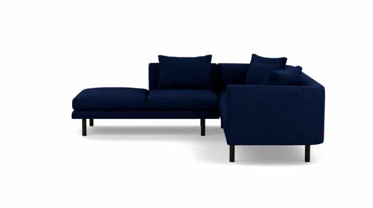 Replay Extended Sofa Backless Chaise25