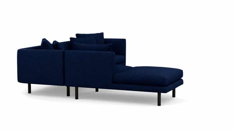 Replay Extended Sofa Backless Chaise7